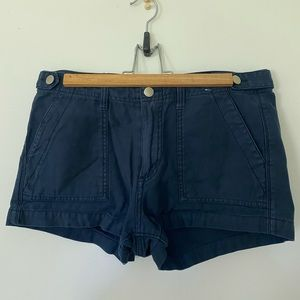 Abercrombie and Fitch Navy Blue Shorts